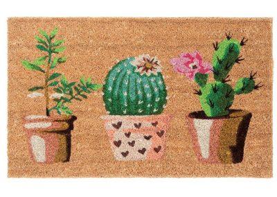 Carpette fibre de coco Cactus