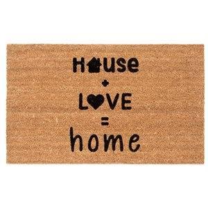 Carpette fibre de coco House + Love = home