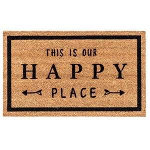 Carpette fibre de coco This is our happy place